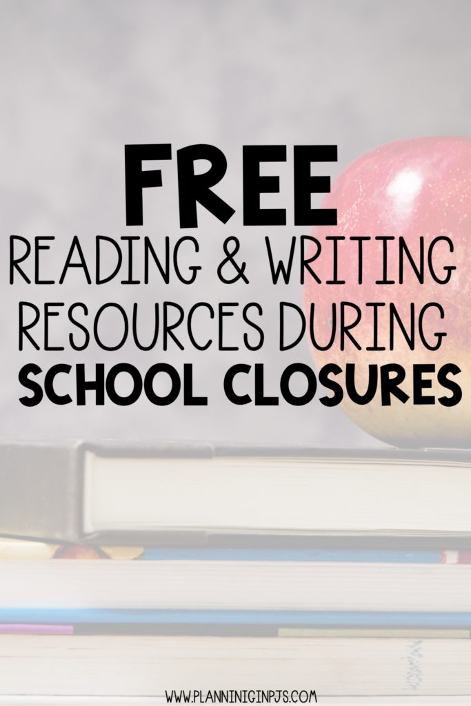 FREE ELA Resources for Teachers and Parents During School Closures